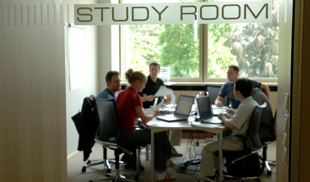 Students in our Study Room